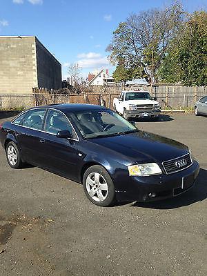 Audi : A6 Luxury Sedan 4-Door Audi A6 Quatro excellent condition; loade good miles