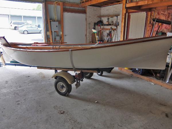 1980 White Hall 16' Sailing Boat