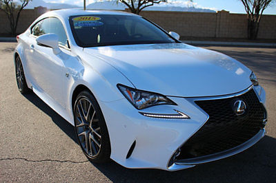 Lexus : Other 2dr Coupe RWD 2015 lexus rc 350 f sport package navigation moonroof 1 owner 52 979 msrp