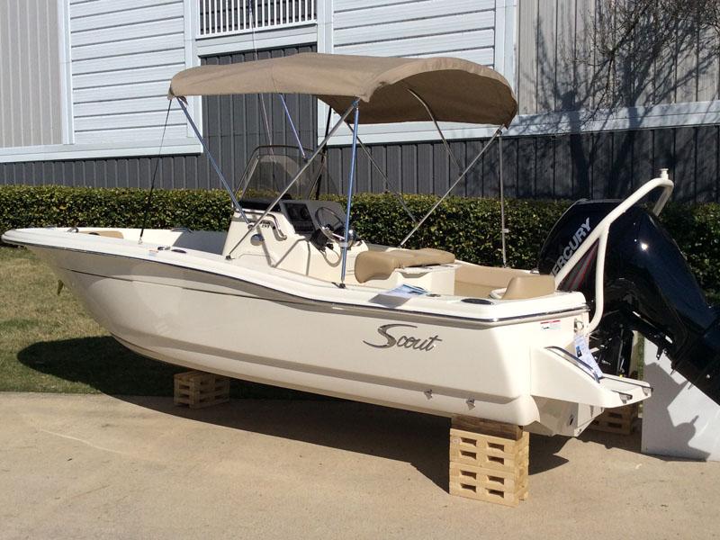 2015 Scout Boat Company 195 Sportfish