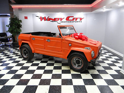 Volkswagen : Thing 1974 volkswagen thing convertible hardtop arizona car low miles rare super cool