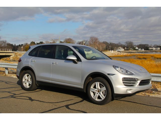 Porsche : Cayenne AWD 4dr Tipt 2012 porsche cayenne 6 speed manual low miles certified pre owned the best