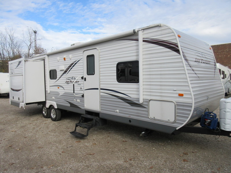 jayco jay flight 32rlds rvs for sale in indiana. Black Bedroom Furniture Sets. Home Design Ideas