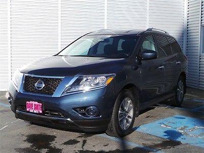 Nissan : Pathfinder SV 2014 blue sv