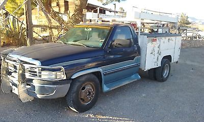 Dodge : Ram 3500 1995 dodge ram 3500 v 10 with tool bed