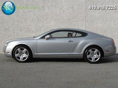 Bentley : Continental GT GT 21 956 miles gt awd navigation heated seats 552 hp w 12