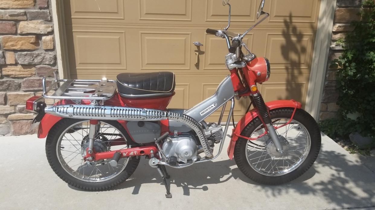 1971 Honda Trail Motorcycles For Sale 50cc Dirt Bike 2016 Polaris Ace 900 Sp Stealth Black