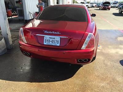 Maserati : Quattroporte 2006 maserati