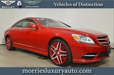 Mercedes-Benz : CL-Class CL550 4MATIC 13 cl 550 keyless go nightview assist amg bodystyling amg alloy wheels