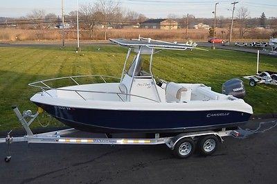 2003 CARAVELLE SEA HAWK 210 CENTER CONSOLE 21FT, YAMAHA 200HP OX66, NEW TRAILER