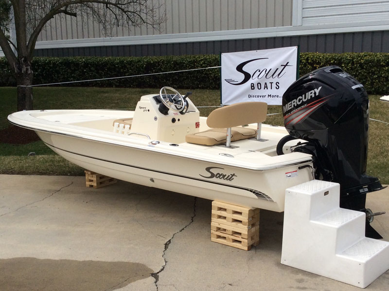 2015 Scout Boat Company 177 Sport