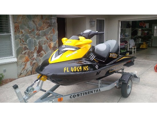 2007 Sea Doo RXT 215 Supercharged