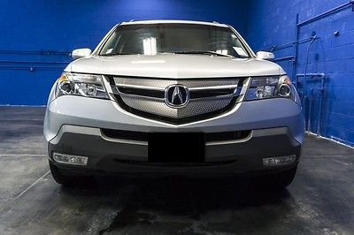 Acura : MDX Technology Package 2007 acura mdx sh awd technology silver on black leather dealer maintained