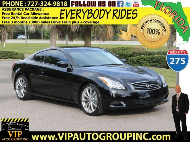 Infiniti : Other 2D Journey 2009 infinity g 37 s coupe 6 speed florida car great condition warranty