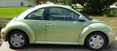 Volkswagen : Beetle-New GLS 2000 volkswagen bug new beetle tdi auto ac pw 45 mpg 2 500