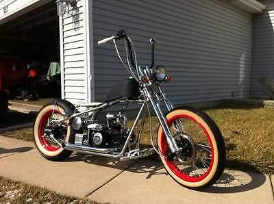 Custom Built Motorcycles : Bobber Kikker 5150 110cc Bobber