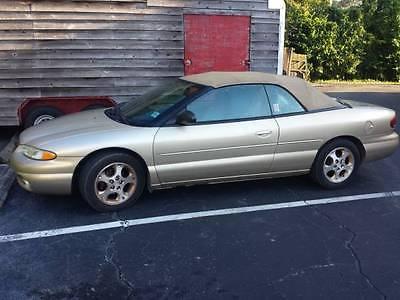 Chrysler : Sebring 1999 chrysler sebring jxi convertible