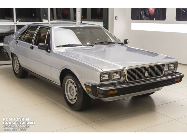 Maserati : Quattroporte 1 owner ron tonkin s personal car all original