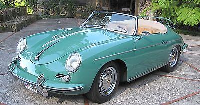 Porsche : 356 Roadster Porsche 1961 Roadsater