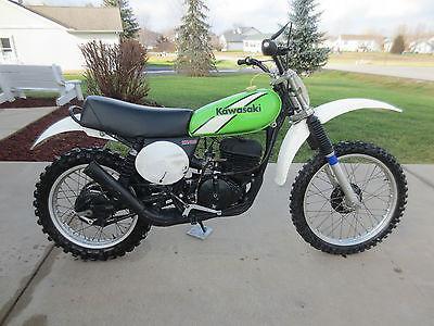 Kawasaki : KX 1975 kawasaki kx 400 motocross
