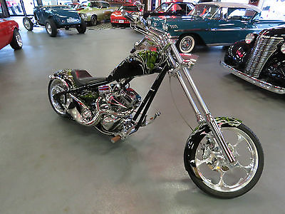 Big Dog : Ridgeback 2006 big dog ridgeback chopper 1 of a kind paint