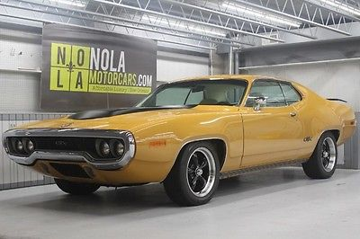Plymouth : GTX Rotisserie restoration, Immaculate quality