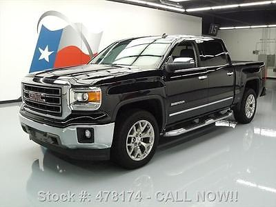 GMC : Sierra 1500 SIERRA SLT CREW LEATHER MYLINK NAV 22'S 2014 gmc sierra slt crew leather mylink nav 22 s 20 k mi 478174 texas direct
