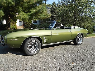 Pontiac : Firebird 1969 firebird convertible