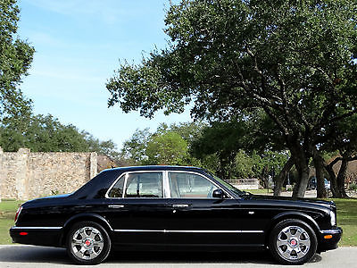 Bentley : Arnage Red Label 2002 bentley arnage red label one owner 31 k fresh svcd best color clean carfax