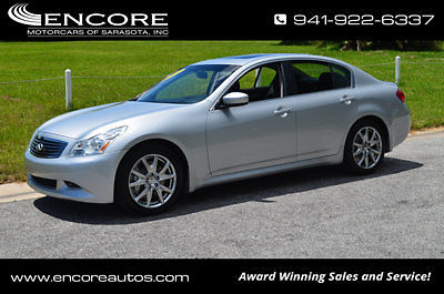 Infiniti : G37 4dr Sport RWD Sedan 2009 infiniti g 37 sedan premium package sunroof sport package paddles satillite