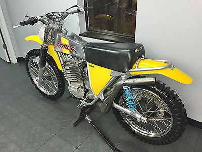 Other Makes 1973 maico 400 vintage mx ahrma radial clean resto racer mods