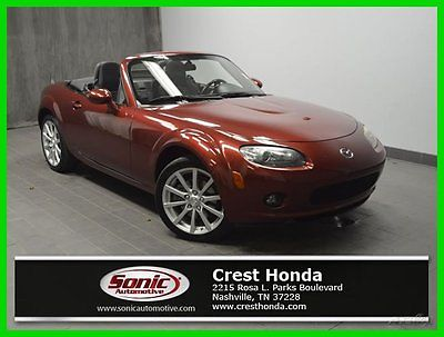 Mazda : MX-5 Miata Touring 2008 touring used 2 l i 4 16 v automatic rear wheel drive convertible premium