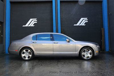 Bentley : Continental Flying Spur 4dr Sedan 2009 bentley continental flying spur w 12 1 bluetooth 44 month financing trades