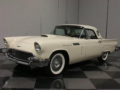 Ford : Thunderbird PORTHOLE BABY BIRD, BOTH TOPS, 292/212 HP V8, RARE FLOOR SHIFT 3-SPEED, SWEET!