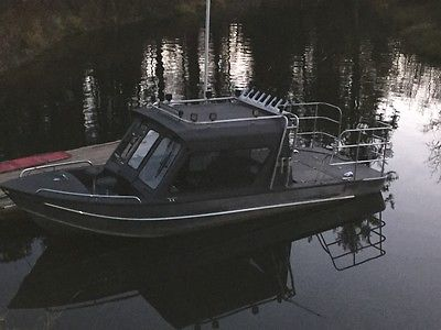 1995 almar north river hard top fishing boat jet boat