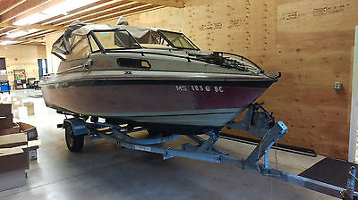 Used 1988 Dynasty 19 Ft 190 Cuddy Sport 3.7L Motor Boat Marina 21 ft Trailer