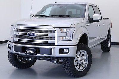 Ford : F-150 Platinum 15 ford f 150 platinum 4 x 4 pro comp lift chrome fuel wheels