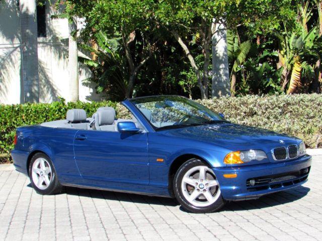 BMW : 3-Series 325Cic 2002 bmw 3 series 325 cic convertible 61 k miles power top premium pkg xenon