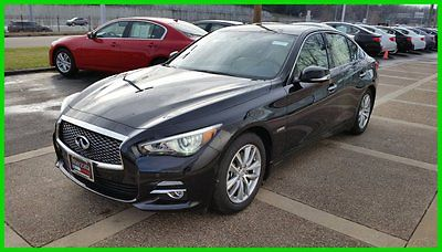 Infiniti : Q50 4dr Sdn Hybrid Premium AWD Deluxe Touring Pkg Navi 2015 infiniti q 50 hybrid with deluxe tech and nav packages 4319 miles