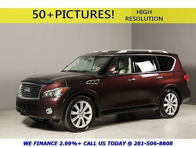 Infiniti : QX56 2012 TOURING TECH THEATER NAV DVD BLIS ADAPTCRUISE 2011 infiniti qx 56 touring tech theater 360 camera nav dvd blis adaptivecruise