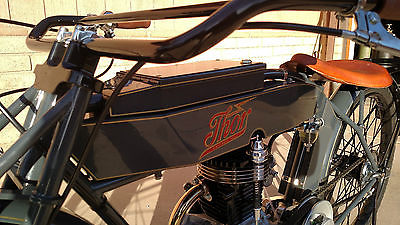 Other Makes : Taylar Tribute 1914 thor motorcycle tribute vintage antique board track racer era not harley