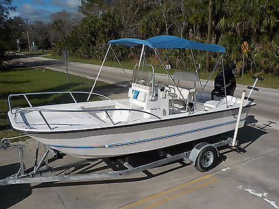 2006 TWIN VEE 19 BAY CC SALTWATER FISHING BOAT SUZUKI 140HP 4-STROKE CATAMARAN