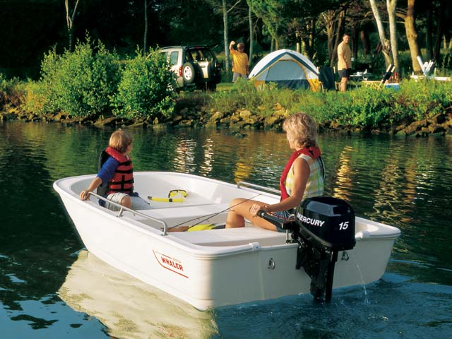 2016 Boston Whaler 110 Tender