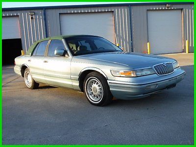 Mercury : Grand Marquis 1995 MERCURY GRAND MARQUIS LS CHEAP BUY IT NOW 1995 mercury grand marquis ls only 71 k miles limited ed loaded cheap buy it now
