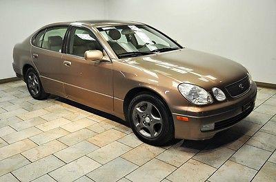 Lexus : GS GS300 300 2000 lexus gs 300 rare color 1 owner warranty