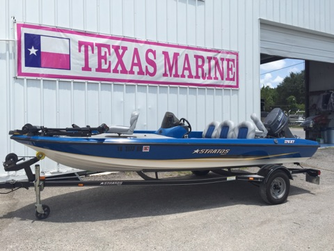 2007 Stratos Bass Boat 176