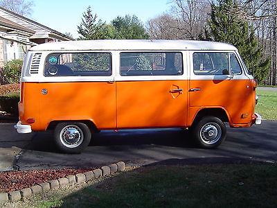 Volkswagen : Bus/Vanagon 1978 volkswagan transporter van