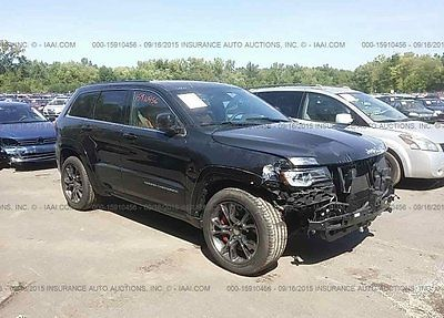 Jeep : Grand Cherokee SRT 2015 srt used 6.4 l v 8 16 v automatic 4 wd suv premium
