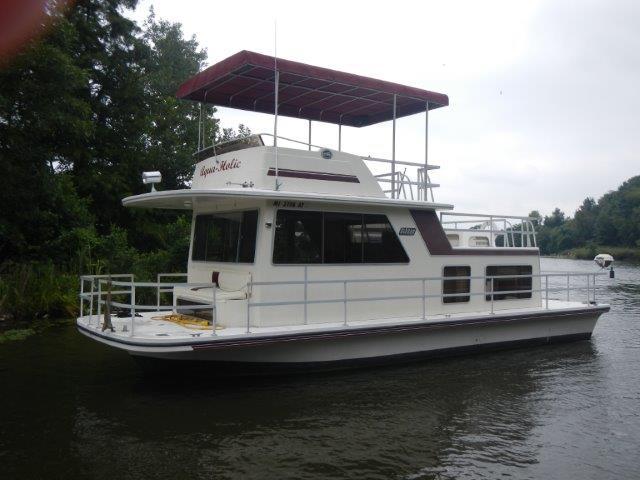1990 Gibson Houseboat 36 Classic FB