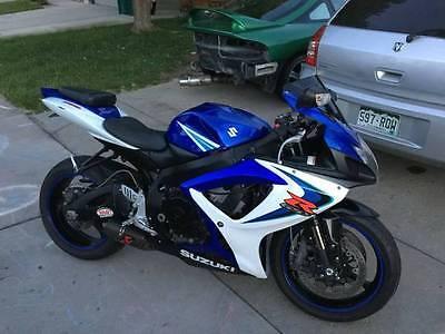 Suzuki : GSX-R 2007 suzuki gsxr 750